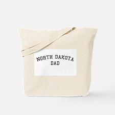North Dakota Dad Tote Bag