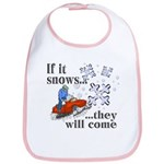 If It Snows Bib