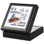 If It Snows Keepsake Box