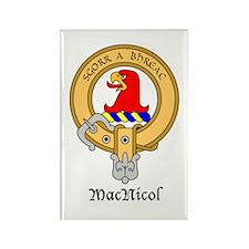 Mac Nicol Rectangle Magnet