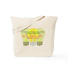 Director Light Bulb Tote Bag
