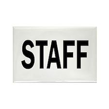 Staff Rectangle Magnet