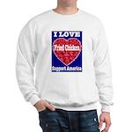 I Love Fried Chicken Sweatshirt