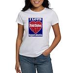 I Love Fried Chicken Women's T-Shirt