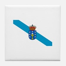 Cute Nation flag Tile Coaster
