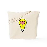THINK LOVE Tote Bag