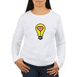 THINK LOVE Women's Long Sleeve T-Shirt
