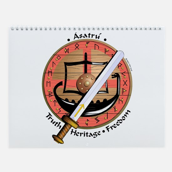 Funny Asatru Wall Calendar