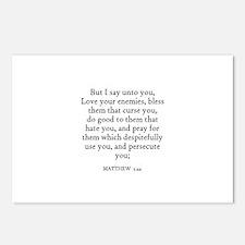 MATTHEW  5:44 Postcards (Package of 8)
