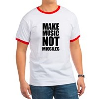 Make Music Not Missiles Ringer T