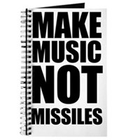 Make Music Not Missiles Journal