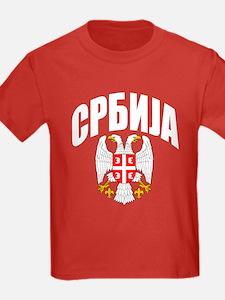 Serb Eagle Cyrillic T