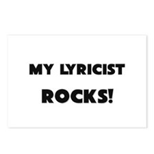 MY Lyricist ROCKS! Postcards (Package of 8)