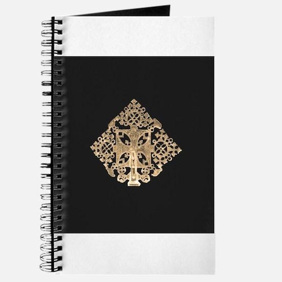 Cute Coptic cross Journal