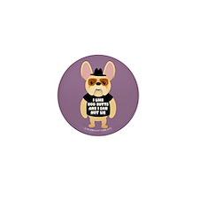 DOG BUTTS Fr. Bulldog Mini Button (10 pack)