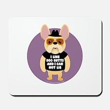DOG BUTTS Fr. Bulldog Mousepad