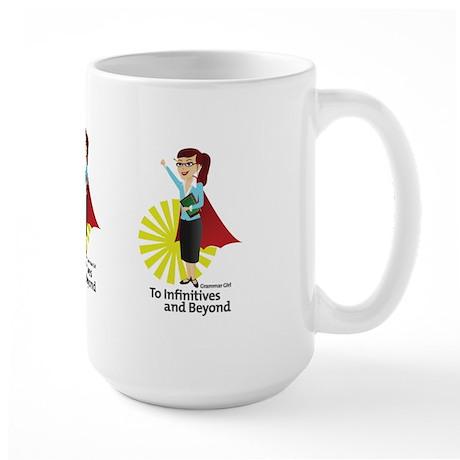 Grammar Girl To Infinitives Large Mug
