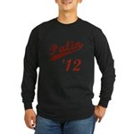 Classic Palin 2012 Long Sleeve Dark T-Shirt