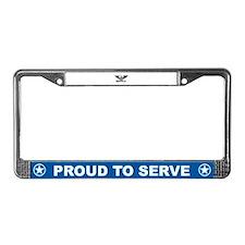 Colonel License Plate Frame