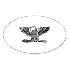 Colonel Oval Decal