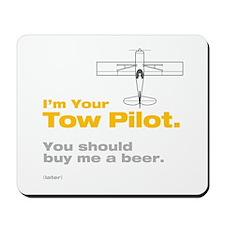 Tow Pilot - Beer: Mousepad