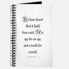 MATTHEW 5:38 Journal