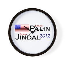 Palin - Jindal #1 Wall Clock