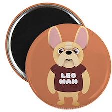 LEG MAN Fr. Bulldog Magnet