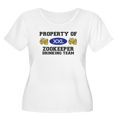 Property of Zookeeper Drinking Team T-Shirt