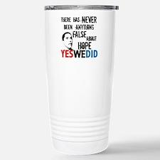 Obama Hope Travel Mug