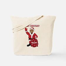 Merry Christmas Obama Tote Bag