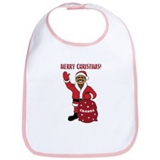 Merry Christmas Obama Bib