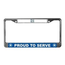 Captain License Plate Frame