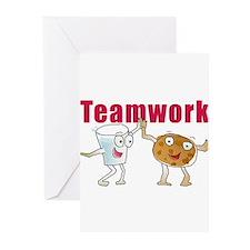 milkncookies Greeting Cards