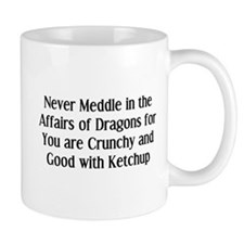 Never Dragons Mug