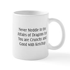 Never Dragons Small Mugs
