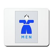 Men toilet, Japan Mousepad