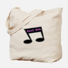Music Note Band Mom Tote Bag