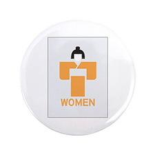 "Women toilet, Japan 3.5"" Button"
