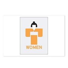 Women toilet, Japan Postcards (Package of 8)