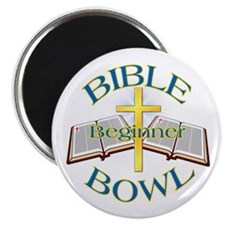 Beginner Bible Bowl Magnet