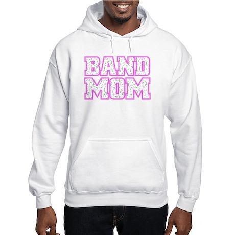 Varsity Band Mom Hooded Sweatshirt