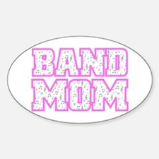Varsity Band Mom Oval Decal