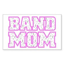 Varsity Band Mom Rectangle Decal