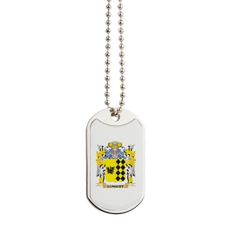 Lumbert Coat of Arms - Family Crest Dog Tags