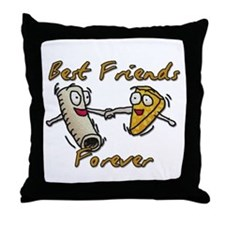 Funny Cheese Throw Pillow