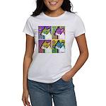 Women's Traveling Bob PopArt Square T-Shirt