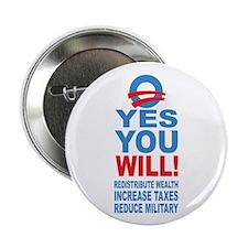 "Anti Barack Obama 2.25"" Button (10 pack)"