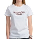 Unbiological Sisterhood Women's T-Shirt