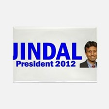 Jindal for President 2012 Rectangle Magnet
